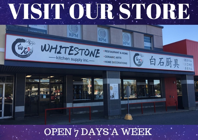 Visit Store | WhiteStone Kitchen Supply Inc.