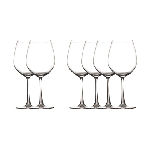 Crystal 20oz Wine Glass 6pc Set
