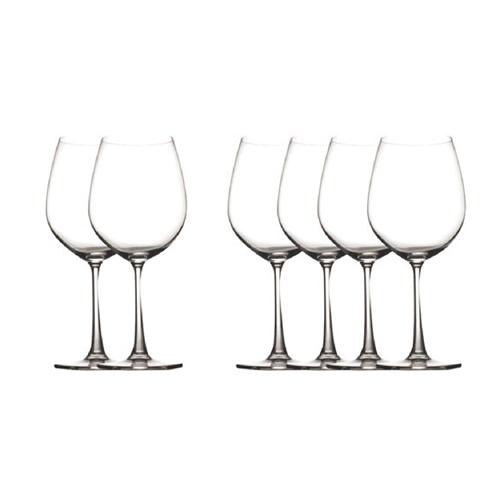 Crystal 20oz Wine Glass 6pc Set
