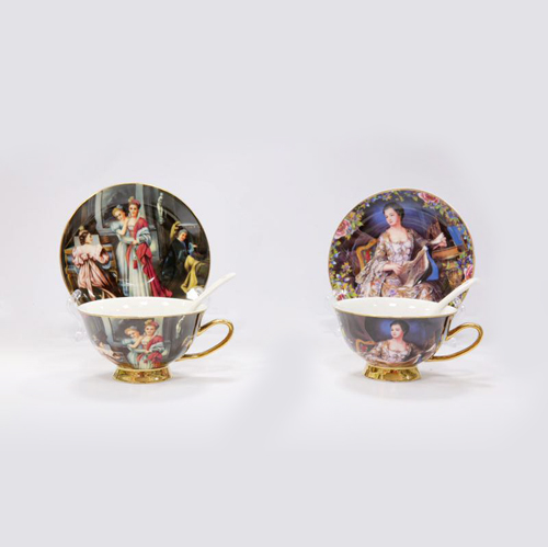 Luxury Ceramic Coffee Cup Set