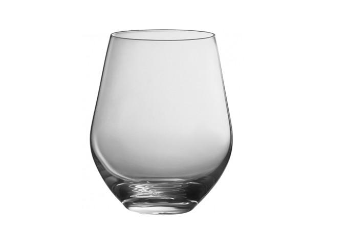 Trudeau Prime Stemless Glasses 12 Oz BX/4 - BOHEMIA | White Stone