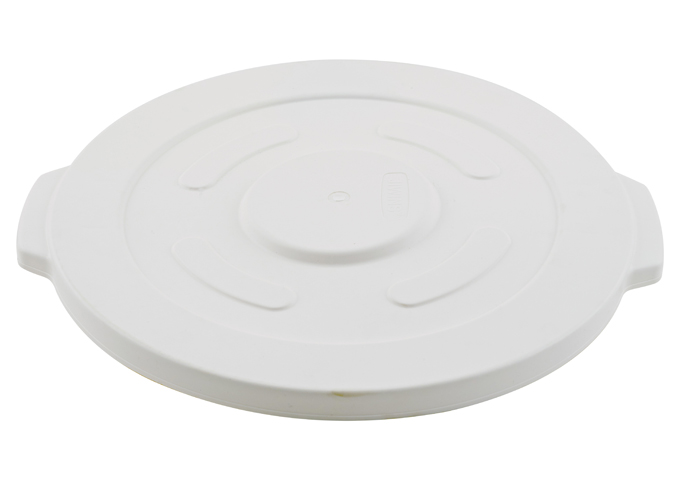 Lid for White Trash Can, 32gln, NSF | White Stone
