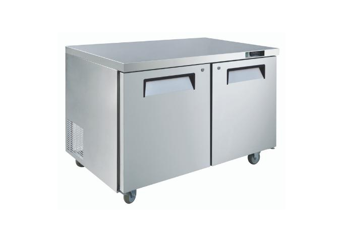 "Manotick MT-KTR-60B 60"" Undercounter Refrigerator   White Stone"