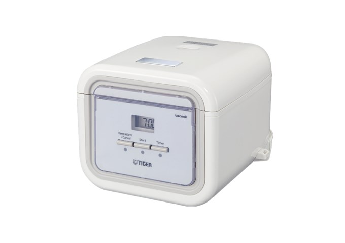 Tiger 3.0 Cups Electric Rice Cooker/Warmer | White Stone