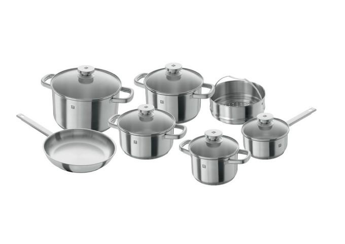 Zwilling Joy 12 pc Cookware Set | White Stone