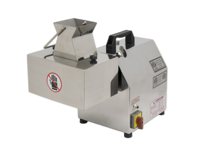 American Eagle Machinery Commercial Electric Meat Cutter Kit Stainless Steel, 1 HP, 1''   White Stone