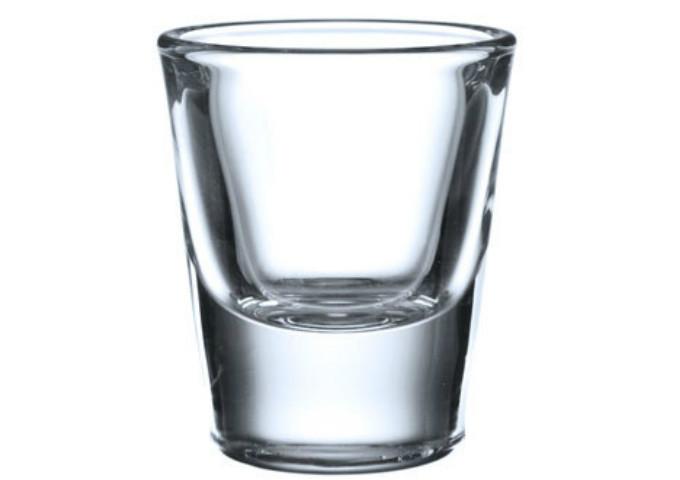 Blinkmax Shot Glass, 1 Oz, DOZ | White Stone