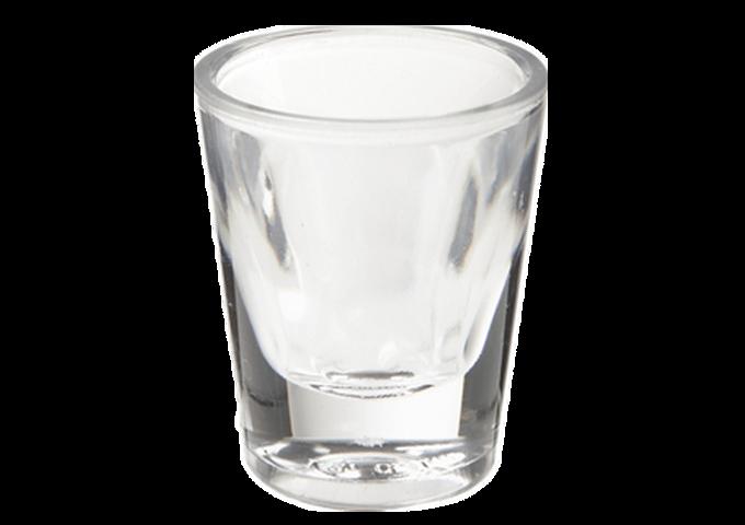 Shot Glass 1 OZ, 2 DOZEN/CASE | White Stone