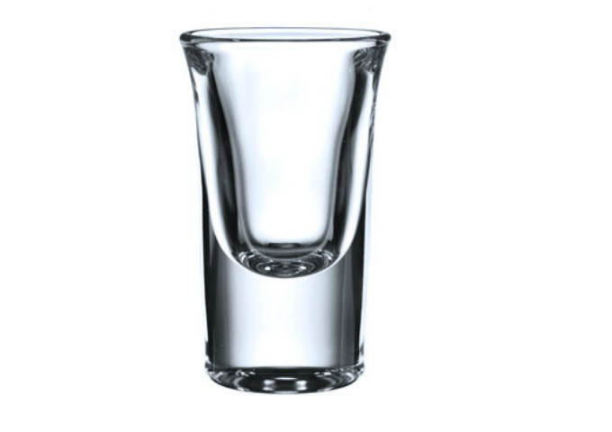 Blinkmax Shot Glass, 27 Ml, DOZ | White Stone