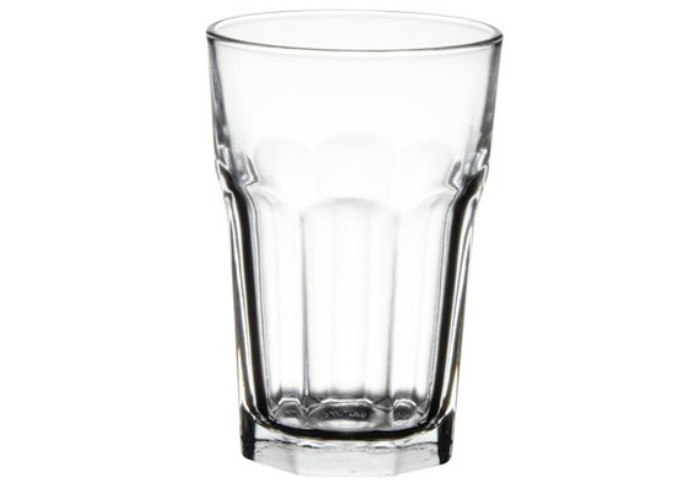 Blinkmax Beverage Glass, 14.5 Oz, DOZ | White Stone