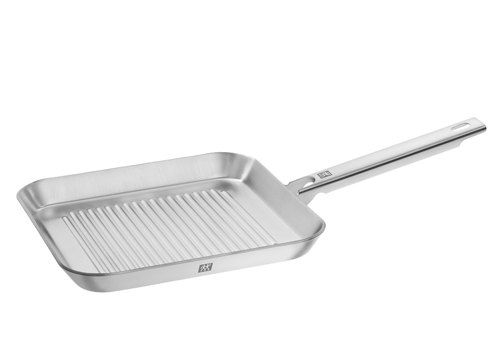 Zwilling Plus, Grill Pan, 24x24 cm | White Stone